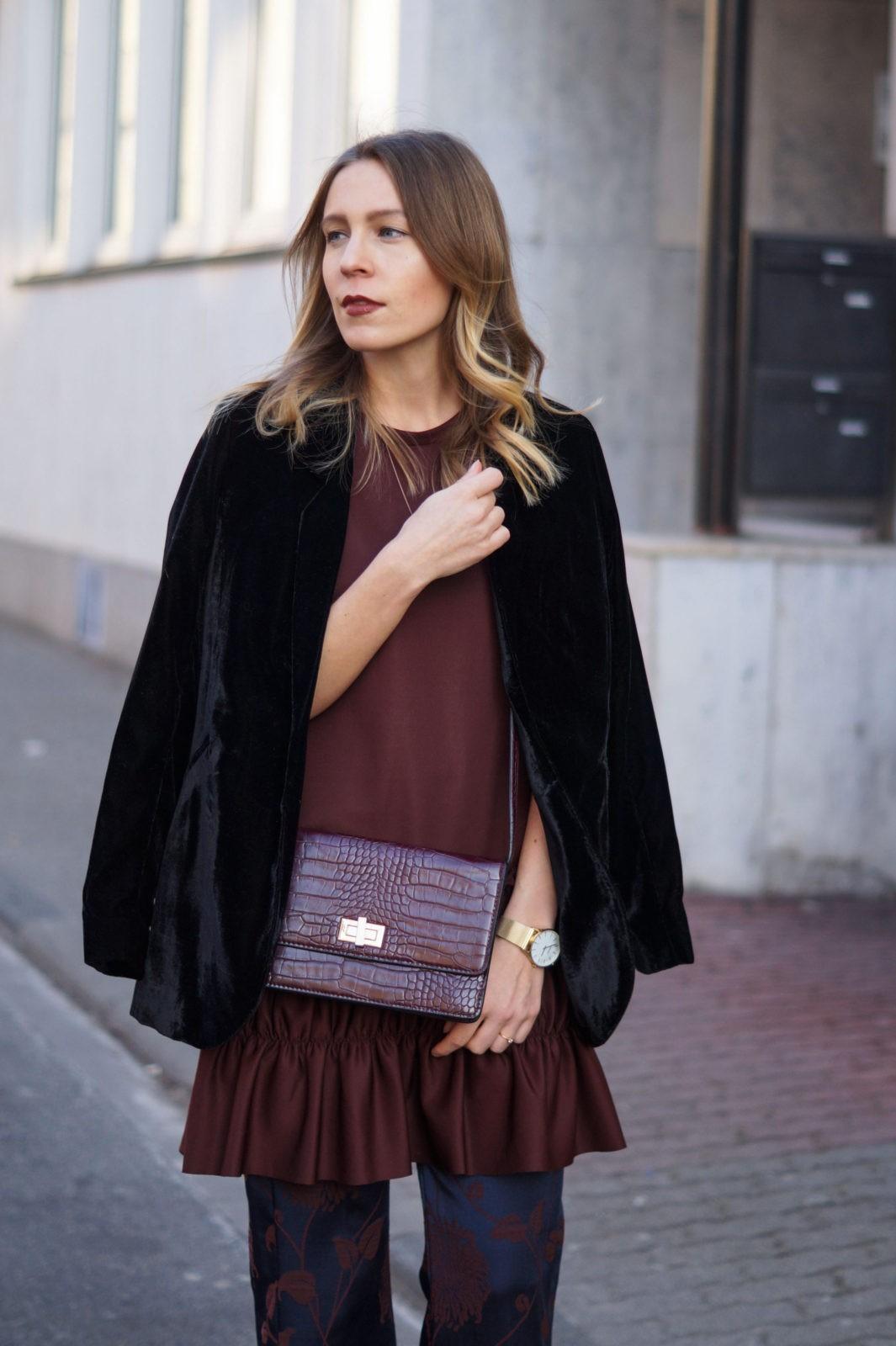 Milan Fashion Week Fur Coat Pink