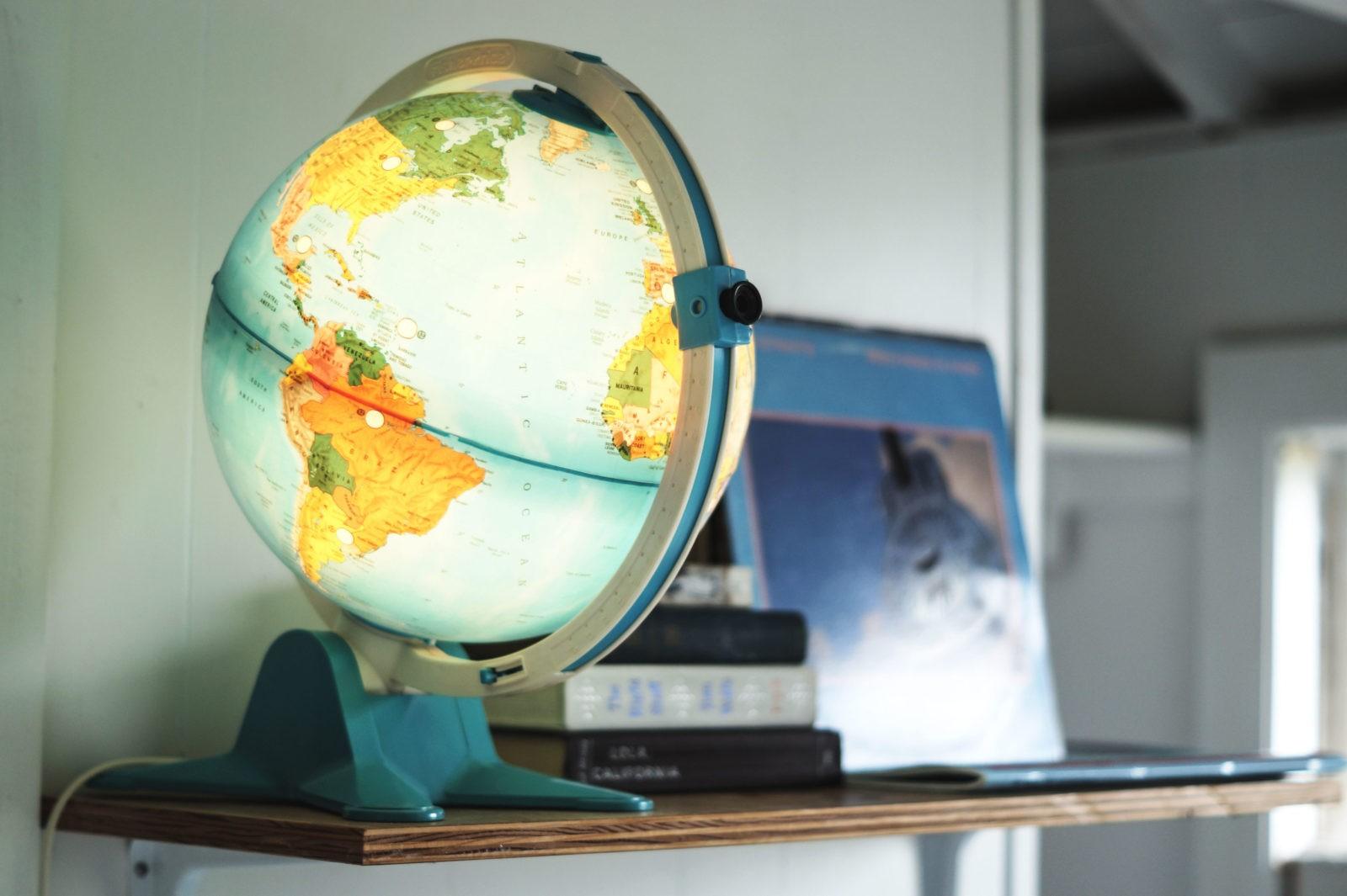 Hotel Review Lincolnville Motel Maine USA Travel Plattenspieler Erfahrung Einrichtung Globus