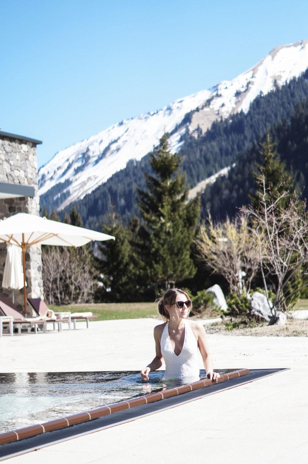 Hotel Review Travel Charme Ifen Hotel Kleinwalsertal Austria Österreich Hotelbewertung Puria Premium SPa Whirlpool Außenpool