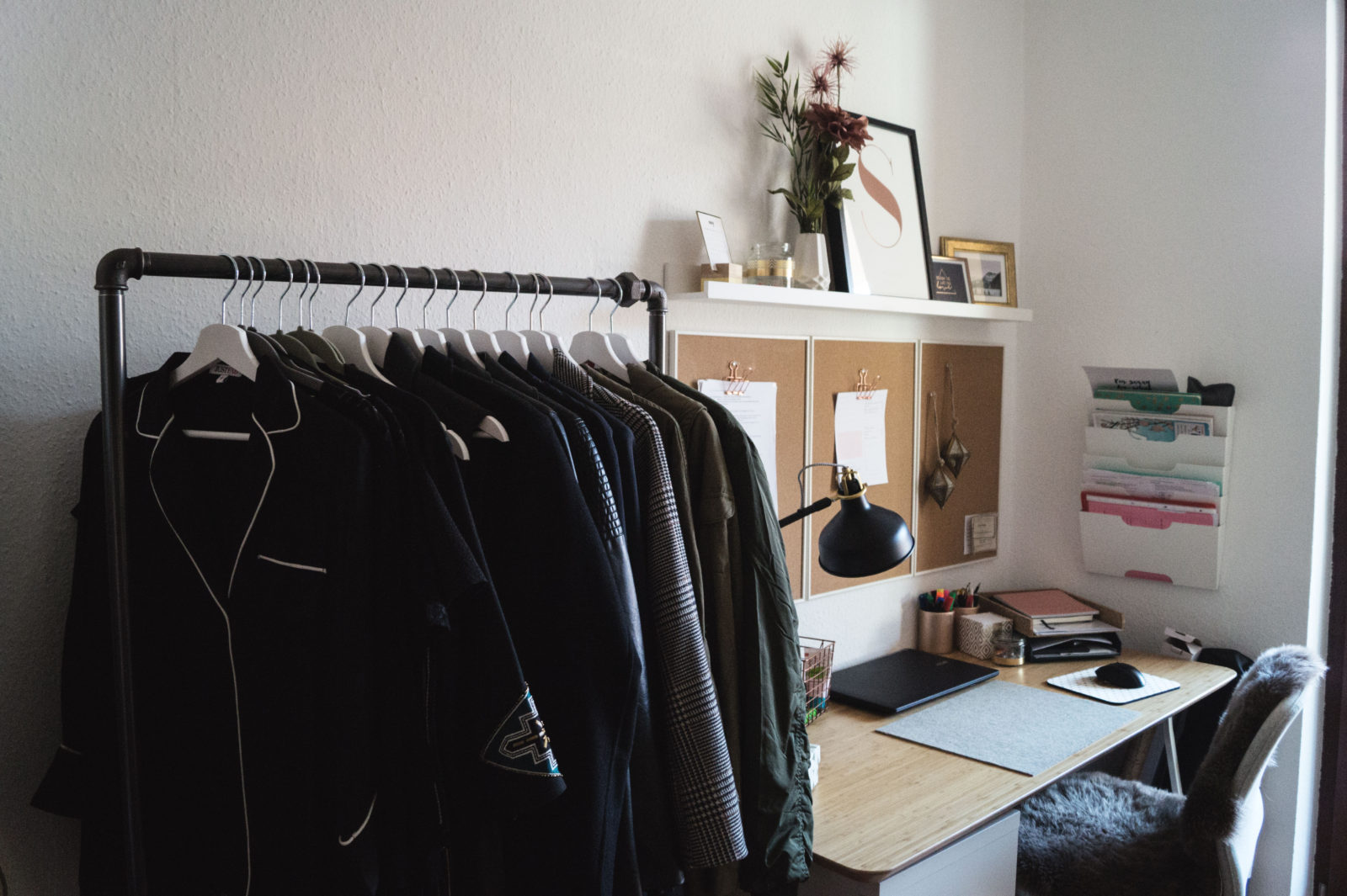 HOME STORY New Walk In Closet Office With Rackbuddy