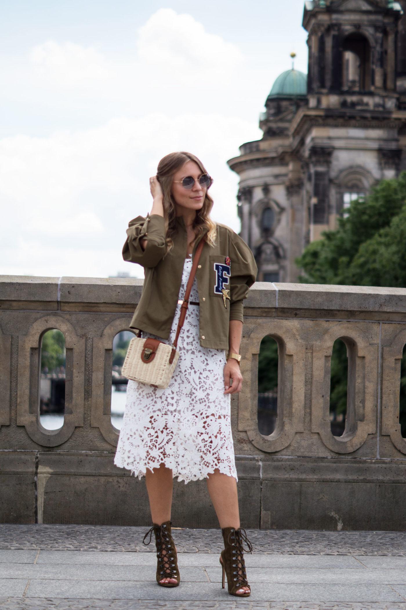 Puff Sleeve Jacket Mango Zara Lace Dress White Sariety