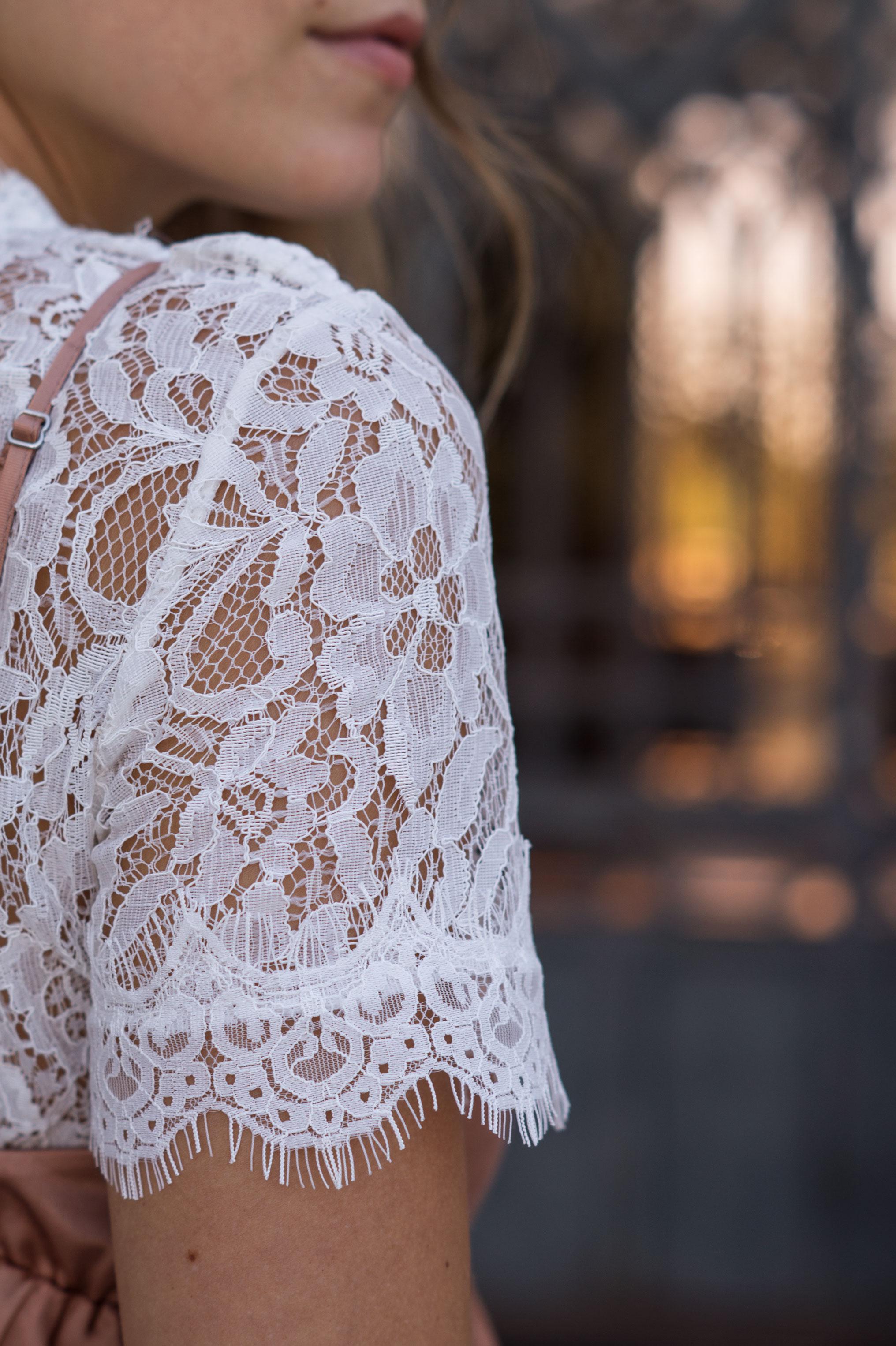 Copper Slipdress rosa Satinkleid silk dress ruffles Rüschenkleid H&M Sariety Modeblog Heidelberg Fashionblogger Milan Mailand Shooting-22