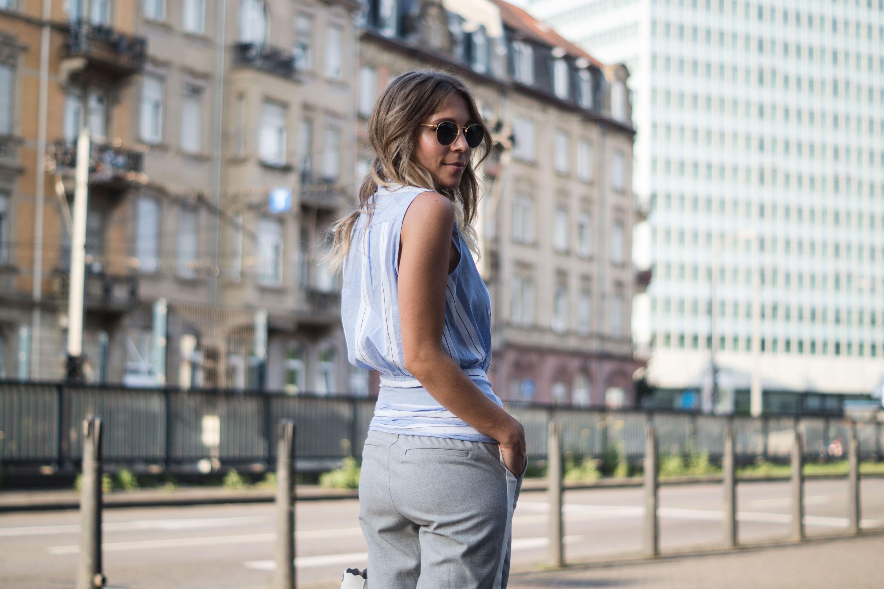 Mango-Wrap-Blouse-Knotenbluse-Joggers-Sariety-Fashionblogger-Modeblog-Heidelberg-Streetstyle-3