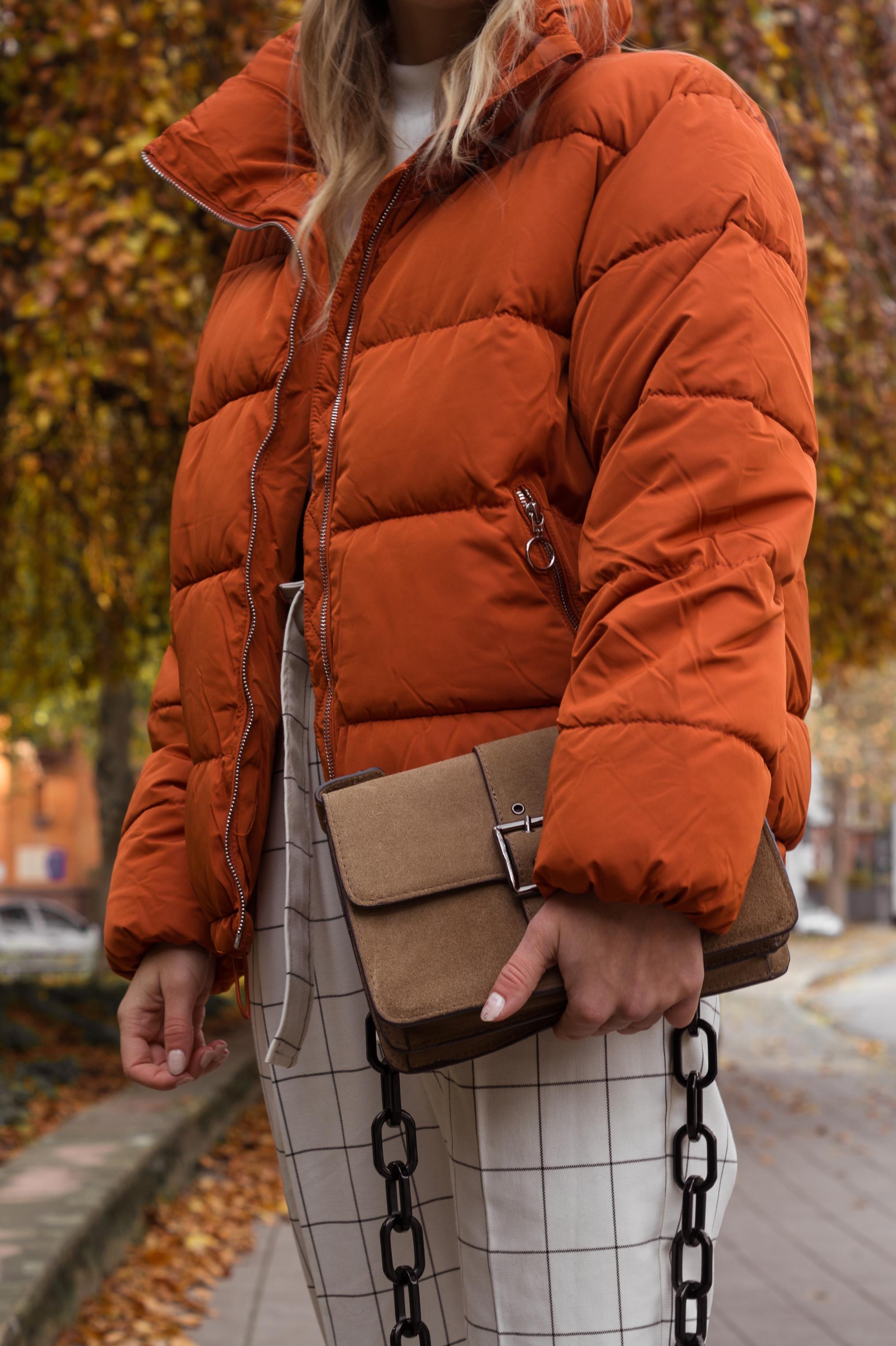 Gola Classics Sneaker Herbslook Trendfarbe Orange Daunenjacke Puffjacket Streetstyle Sariety Modeblog Heidelberg Fashionblogger_15