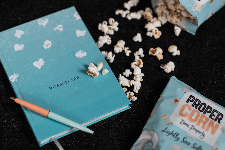 Propercorn Notebook Stilnest Sariety Design Popcorn Notizbuch Blogger Edition_3
