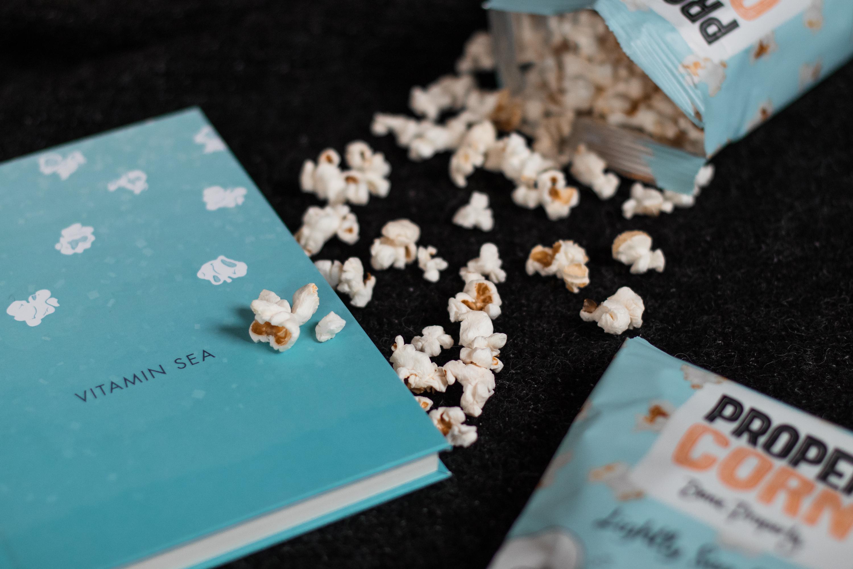Propercorn Notebook Stilnest Sariety Design Popcorn Notizbuch Blogger Edition_5