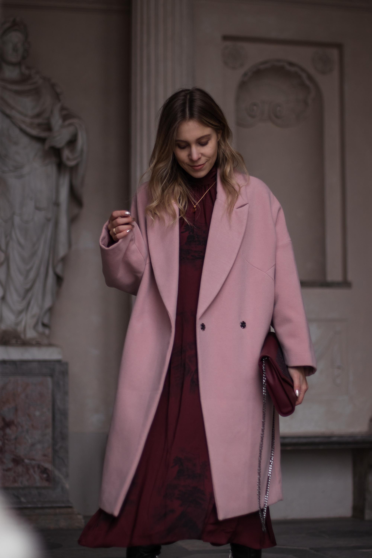 Mantel fur festliches kleid