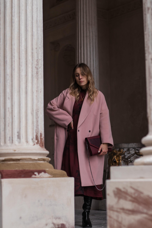 Mantel pink rosa