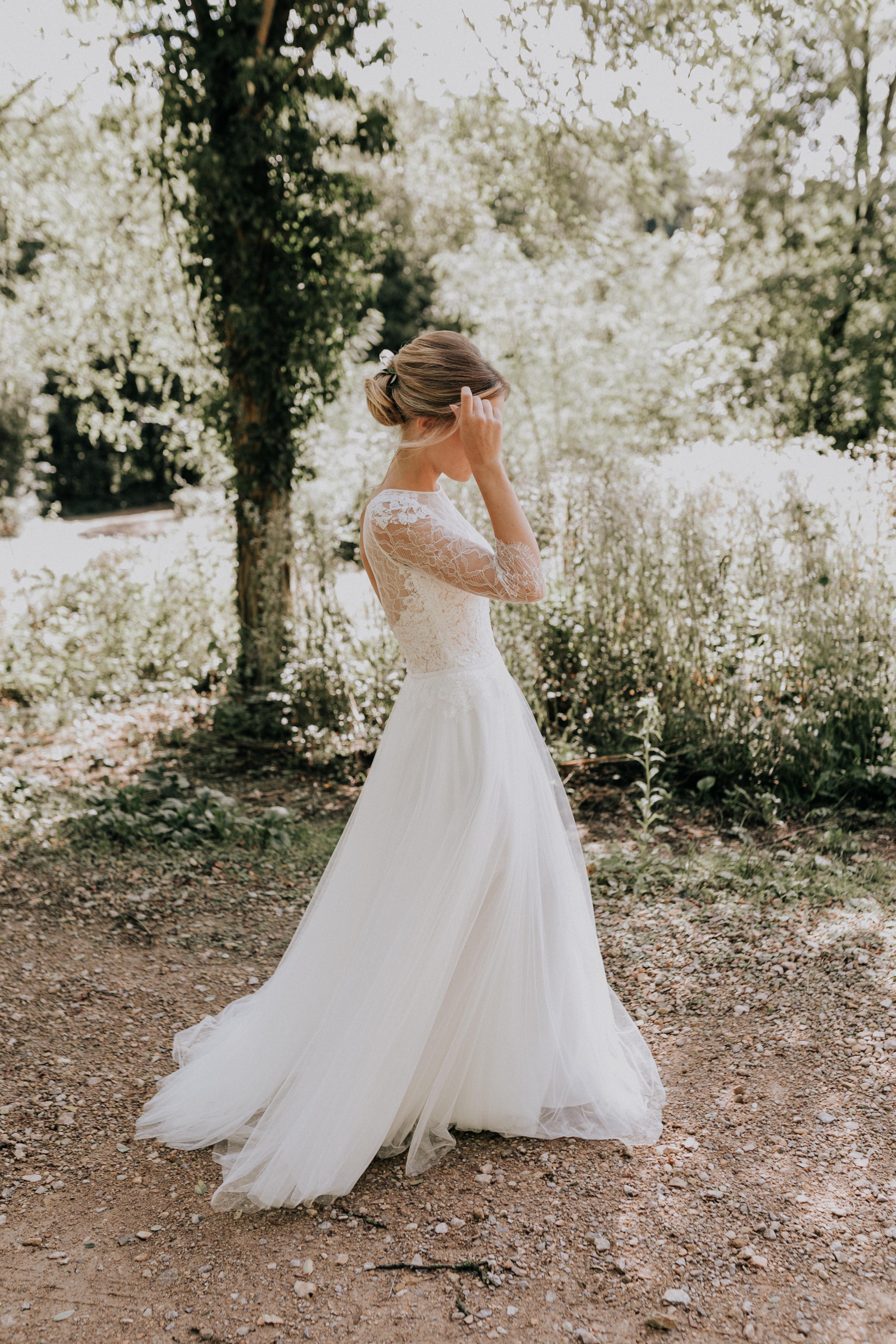 Brautkleid Anprobe Wedding Dress Fitting Wedding Gown Braut Hochzeit ...