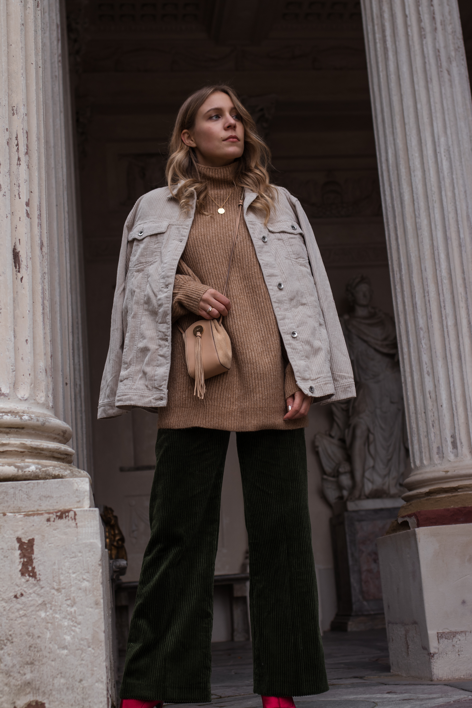 Green Cord Pants Chloe Bag Red Sock Boots Trend Cord Jacket Sariety Modeblog Fashionblogger Sarah Schäfer Cordhose_2